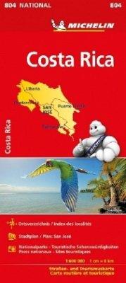 Michelin Karte Costa Rica