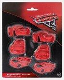 Cars Keks-Ausstecher-Set, 6 Ausstech-Förmchen