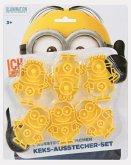 Minions Keks-Ausstecher-Set, 6 Ausstech-Förmchen