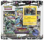 Pokemon, Sonne & Mond 07 3-Pack Blister deutsch (Sammelkartenspiel)