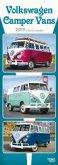 Volkswagen Camper Vans - VW Busse 2019 Slimline Calendar