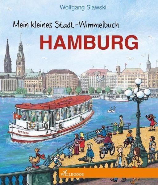 Mein kleines Stadt-Wimmelbuch Hamburg - Slawski, Wolfgang