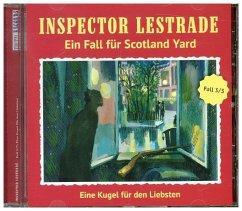 Inspector Lestrade - Eine Kugel für den Liebsten, 1 Audio-CD