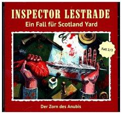 Inspector Lestrade - Der Zorn des Anubis, 1 Aud...