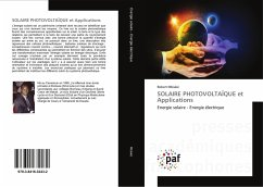 SOLAIRE PHOTOVOLTAÏQUE et Applications