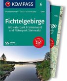 KOMPASS Wanderführer Fichtelgebirge mit Naturpark Frankenwald und Naturpark Steinwald
