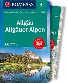 KOMPASS Wanderführer Allgäu, Allgäuer Alpen 1:40 000