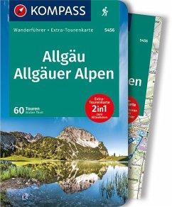 KOMPASS Wanderführer Allgäu, Allgäuer Alpen 1:40 000 - Theil, Walter