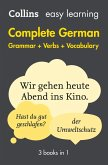 Easy Learning German Complete Grammar, Verbs and Vocabulary (3 books in 1) (Collins Easy Learning German) (eBook, ePUB)