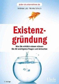 Existenzgründung - Lutz, Andreas; Schuch, Monika