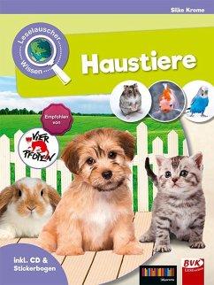 Leselauscher Wissen: Haustiere (inkl. CD und St...
