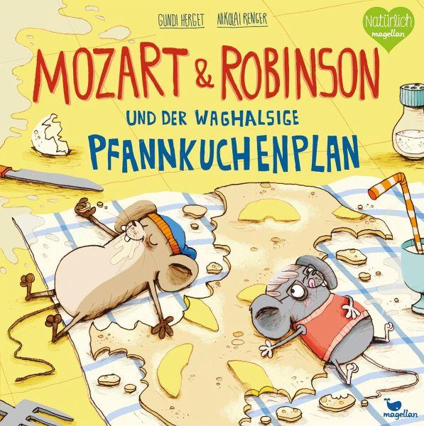Buch-Reihe Mozart & Robinson