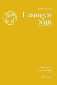 Losungen 2019. Schweiz, Schreibausgabe