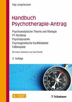 Handbuch Psychotherapie-Antrag - Jungclaussen, Ingo