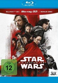 Star Wars: Episode VIII - Die letzten Jedi Blu-ray 3D + 2D
