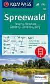 Kompass Karte Spreewald