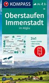 KOMPASS Wanderkarte Oberstaufen, Immenstadt im Allgäu