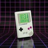 Game Boy Wecker mit LED Anzeige