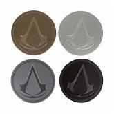 Assassins Creed Untersetzer Metall 4 Stk.