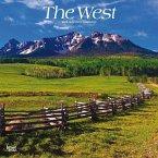 The West - Der Westen der USA 2019 - 18-Monatskalender mit freier TravelDays-App