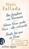 Der Jungherr von Strammin / Kleiner Mann, großer Mann - alles vertauscht / Heute bei uns zu Haus (eBook, ePUB)