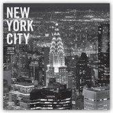 New York City - schwarz-weiß 2019 - 18-Monatskalender mit freier TravelDays-App