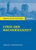 Lyrik der Nachkriegszeit (1945-60).