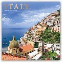 Italy - Italien 2019 - 18-Monatskalender mit fr...