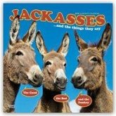 Jackasses and the things they say - Was Esel erzählen 2019 - 18-Monatskalender