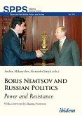 Boris Nemtsov and Russian Politics