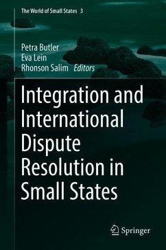 Integration and International Dispute Resolutio...