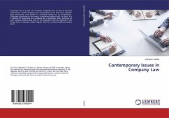 Contemporary Issues in Company Law
