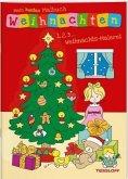 Mein buntes Malbuch Weihnachten. 1, 2, 3... Weihnachts-Malerei (Mängelexemplar)