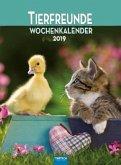 """Wochenkalender """"Tierfreunde"""" 2019"""