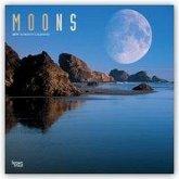 Moons - Mondansichten 2019 - 18-Monatskalender