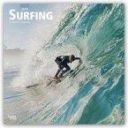 Surfing - Surfen 2019 - 18-Monatskalender