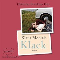 Klack (Ungekürzte Lesung) (MP3-Download) - Modick, Klaus