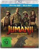 Jumanji: Willkommen im Dschungel (Blu-ray 3D + Blu-ray)