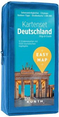 EASY MAP Kartenset Deutschland