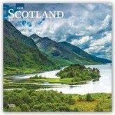Scotland - Schottland 2019 - 18-Monatskalender mit freier TravelDays-App