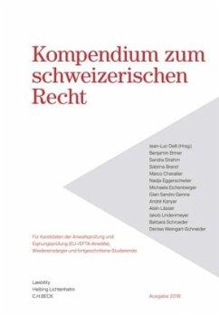 Kompendium zum schweizerischen Recht