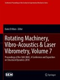 Rotating Machinery, Vibro-Acoustics & Laser Vibrometry, Volume 7