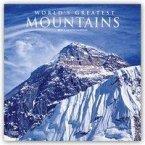 World's Greatest Mountains - Die höchsten Berge der Welt 2019 - 18-Monatskalender