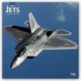 Jets - Düsenflugzeuge 2019 - 18-Monatskalender