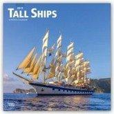 Tall Ships - Segelschiffe 2019 - 18-Monatskalender
