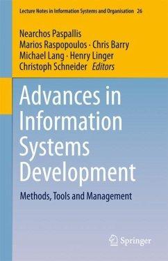 Advances in Information Systems Development