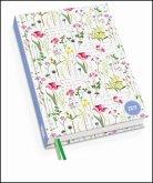 Lovely Flowers Taschenkalender 2019 - Terminplaner mit Wochenkalendarium