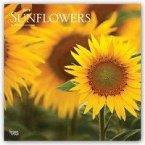 Sunflowers - Sonnenblumen 2019 - 18-Monatskalender