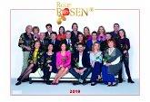Rote Rosen 2019 - Broschürenkalender - Wandkalender - mit Jahresplaner