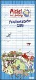 Michel aus Lönneberga Familienkalender 2019 - Familien-Planer mit 5 Spalten